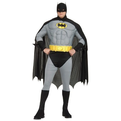 Adult Muscle Chest Batman Costume