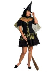 Women's Wicked Witch Of The West Plus Costume.