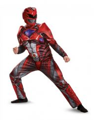 Adult Muscle Red Ranger Costume