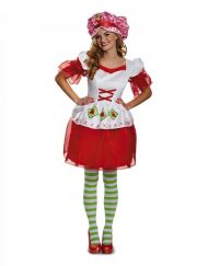 Adult Classic Strawberry Shortcake Costume