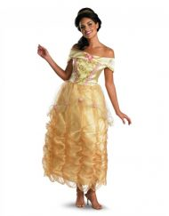 Adult Classic Beauty and the Beast Belle Costume