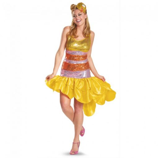 Adult Sesame Street Glam Big Bird Costume