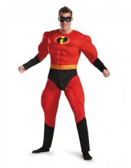 Adult Deluxe Muscle Mr. Incredible Costume