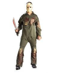 Super Deluxe Adult Jason Costume