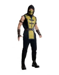 Shirt with Tabard Adult Scorpion Costume