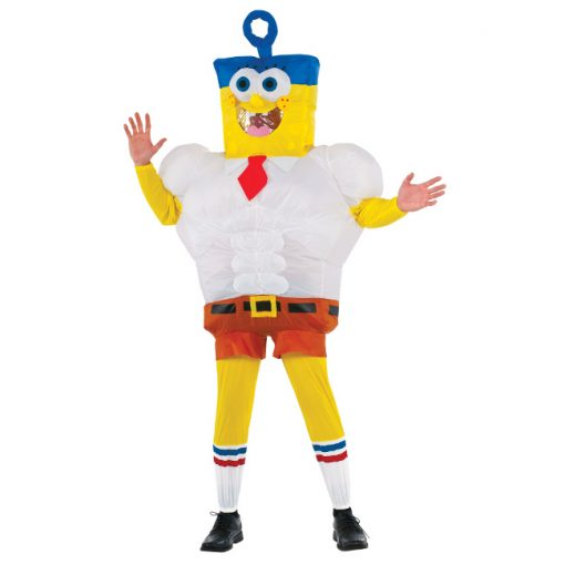 Inflatable Invincibubble Adult Spongebob Costume