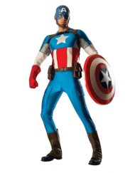 Grand Heritage Adult Captain America Costume