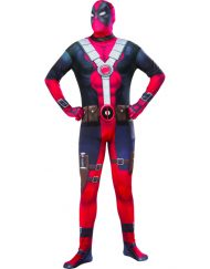 2nd Skin Adult Deadpool Costume