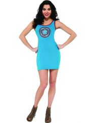 Adult American Dream Rhinestone Tank Dress