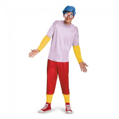 Adult Simpsons Milhouse Costume