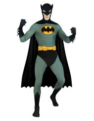 2nd Skin Suit Adult Batman Costume
