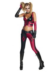 Secret Wishes Top and Pants Adult Harley Quinn Costume