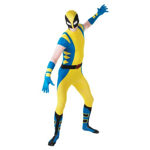 2nd Skin Adult Wolverine Costume - X-Men