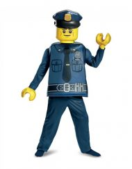 Lego Police Officer Deluxe Costume