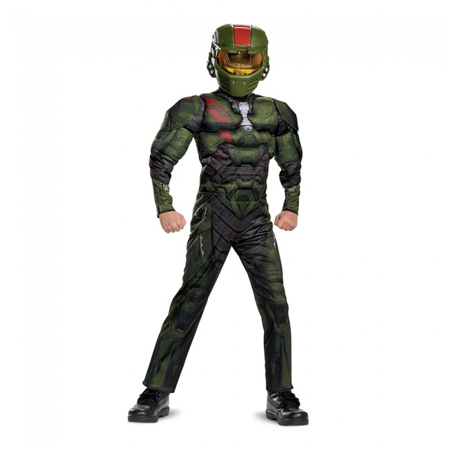 Halo Wars 2 - Jerome Classic Muscle Costume