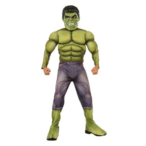 Deluxe Muscle Chest Kids Hulk Costume