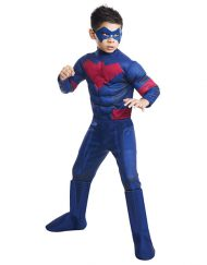 Deluxe Kids Nightwing Costume - Batman Unlimited