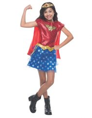 Tutu Dress Kids Wonder Woman Costume