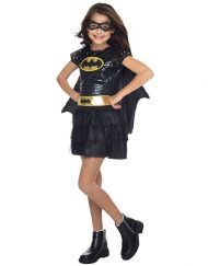 Tutu Dress Kids Batgirl Costume