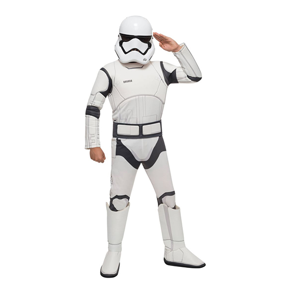 Force Awakens Deluxe Kids Stormtrooper Costume