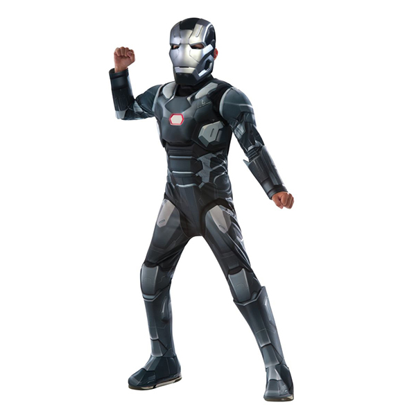 Deluxe Muscle Chest Kids War Machine Costume