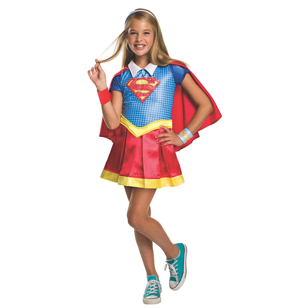 Deluxe Kids Supergirl Costume