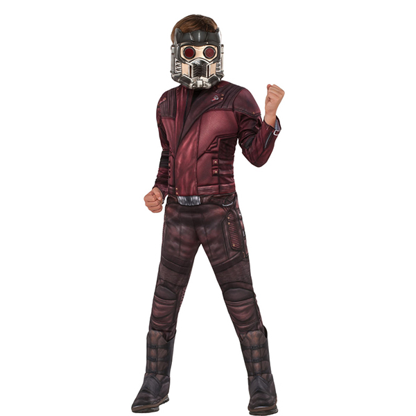 Kid's Deluxe Muscle Chest Star-Lord Costume