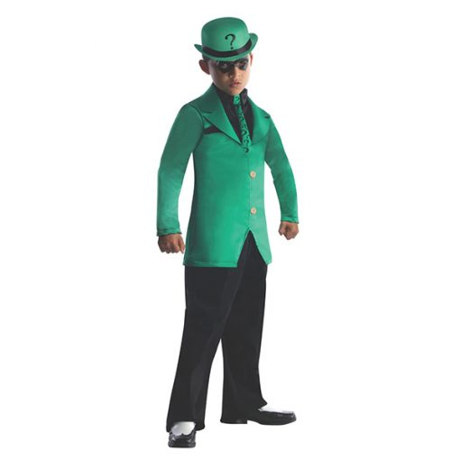 Kids Riddler Costume - Gotham City Most Wanted
