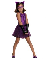 Tutu Dress Kids Catwoman Costume - Gotham City Most Wanted