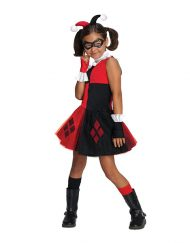 Tutu Dress Kids Harley Quinn Costume - Gotham City Most Wanted