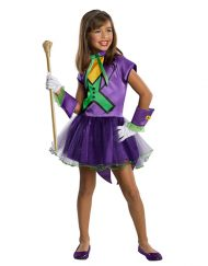 Tutu Dress Girls Joker Costume - Gotham City Most Wanted
