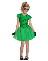 Tutu Dress Girls Riddler Costume - Gotham City Most Wanted